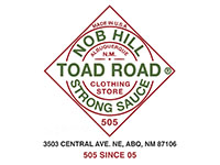 Toad Road Nob Hill